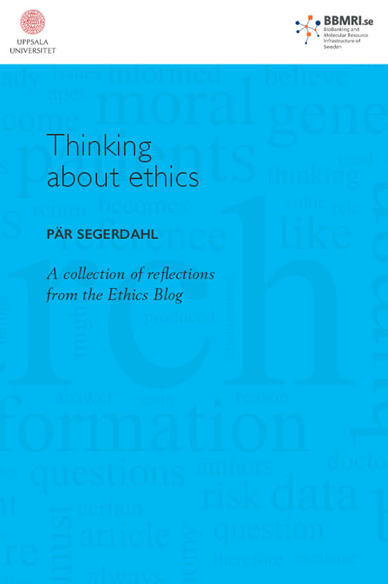 Thinking about ethics - Pär Segerdahl